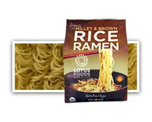 Lotus Foods: Organic Millet & Brown Rice Ramen (283g)