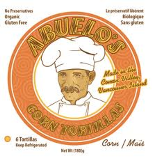 Abuelos: Corn Tortillas + Chia Seeds (6 Units)