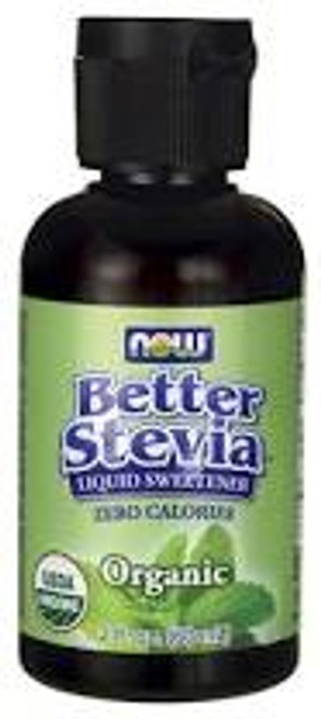 Now: BetterStevia Organic Liquid Sweetener (60ml)