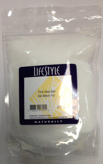 Lifestyle Markets: Fine Sea Salt (400g)