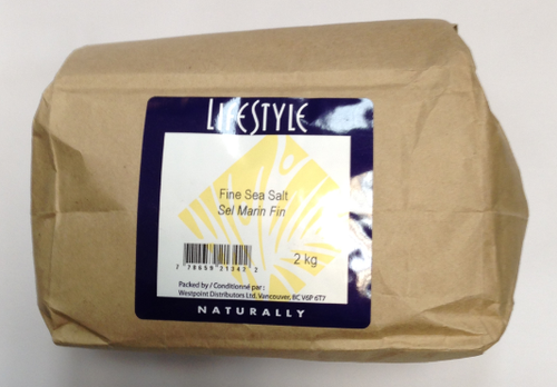 Lifestyle Markets: Fine Sea Salt (2kg)