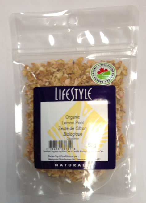 Lifestyle Markets: Organic Lemon Peel (50g)