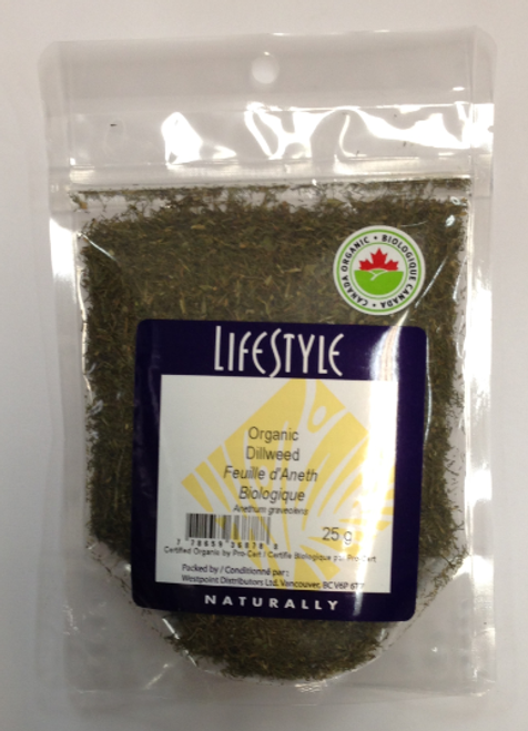 Lifestyle Markets: Organic Dillweed (25g)