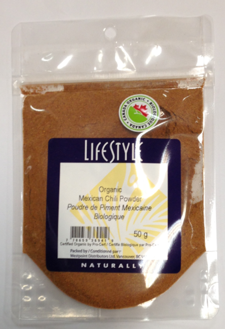 Lifestyle Markets: Organic Mexican Chili Powder (50g)