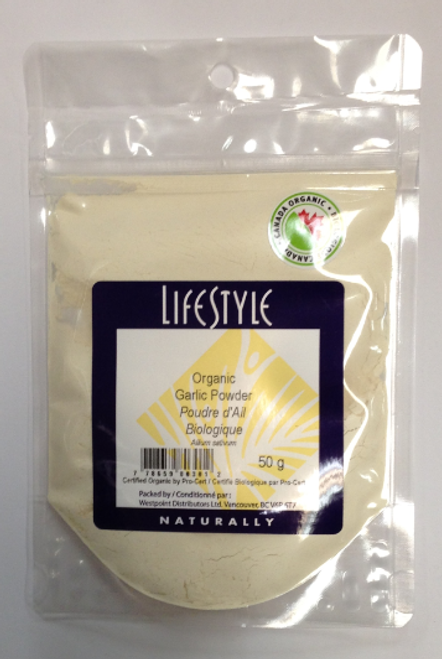 Lifestyle Markets: Organic Garlic Powder (50g)