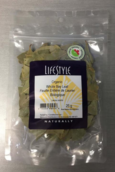 Lifestyle Markets: Organic Whole Bay Leaf (25g)