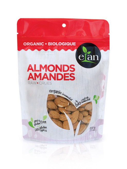 Elan: Organic Almonds (200g)