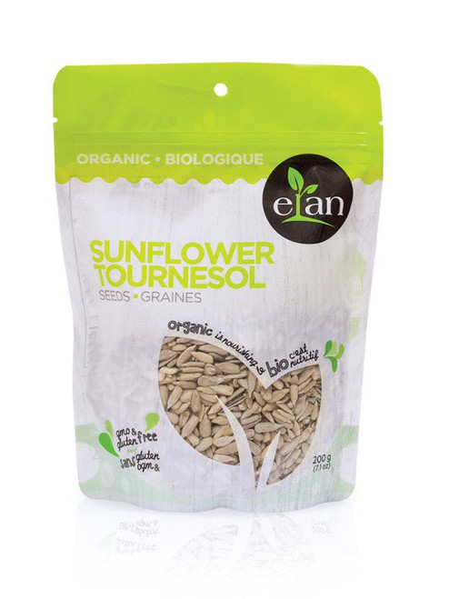 Elan: Organic Sunflower Seeds (200g)