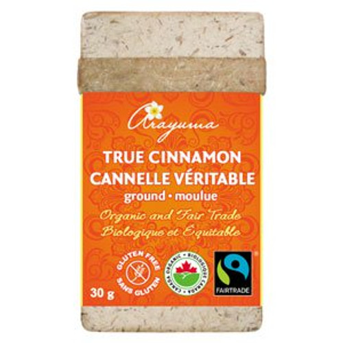 Cha's Organics: Ground True Cinnamon (30g)
