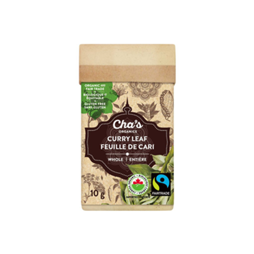 Cha's Organics: Whole Curry Leaf (10g)