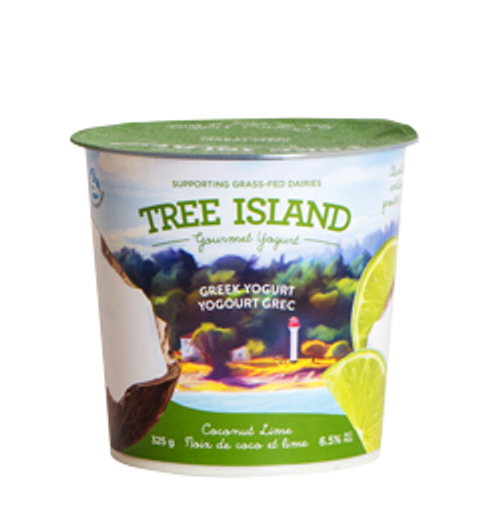 Tree Island: Greek Yogurt - Coconut Lime