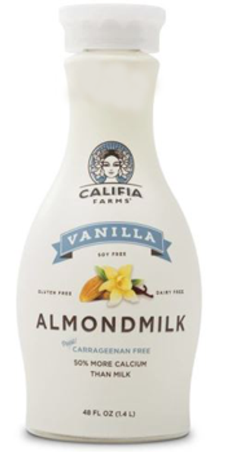 Califia Farms: Almond Beverage - Vanilla (1.4L)