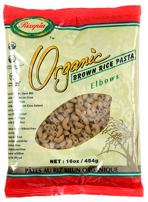 Rizopia Food Products: Organic Brown Rice Elbows Pasta