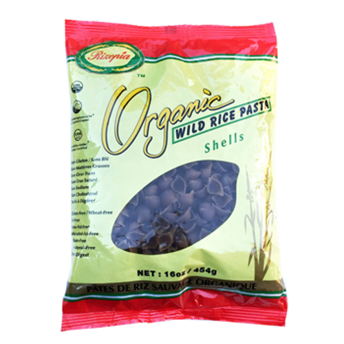 Rizopia Food Products: Organic Wild Rice Pasta Shells (454g)