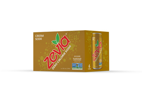 Zevia: Cream Soda (6pk)