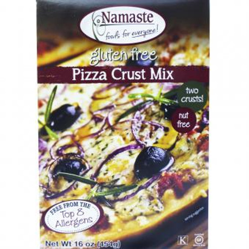 Namaste Foods: Pizza Crust Mix (454g)