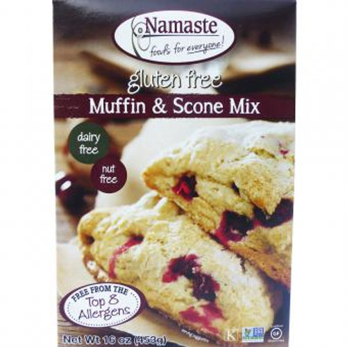 Namaste Foods: Muffin & Scone Mix (453g)