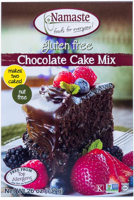 Namaste Foods: Chocolate Cake Mix (737g)