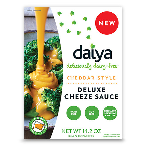 Daiya: Deluxe Cheesze Sauce - Cheddar Style (402g)