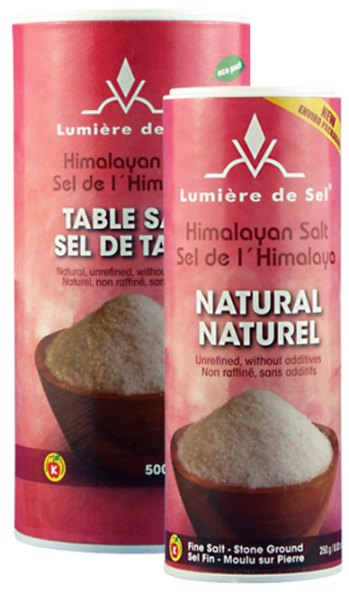 Buy Himalayan Table Salt Shaker from Lumiere De Sel (500g)