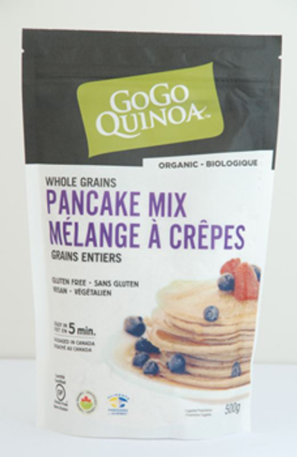 Gogo Quinoa: Whole Grains Pancake Mix (500g)