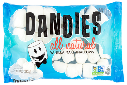 Dandies: Vanilla Flavored Marshmallows (283g)