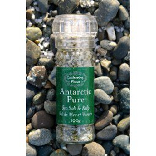 Gathering Place: Antarctic Pure Sea Salt & Kelp Refillable Grinder (100g)