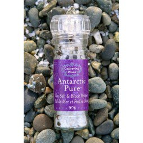 Gathering Place: Antarctic Pure Sea Salt & Black Pepper Refillable Grinder (90g)