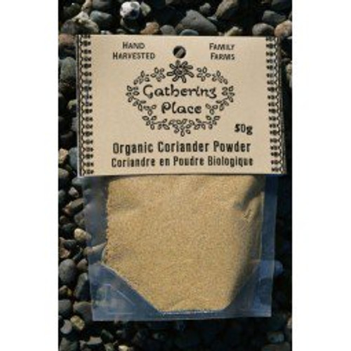 Gathering Place: Organic Coriander Powdered  (50g)