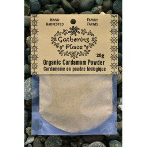 Gathering Place: Organic Cardamom Powder (20g)