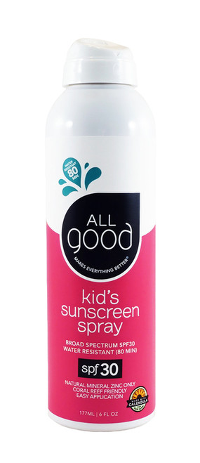 All Good: Kid's Sunscreen Spray SPF 30 (177ml)