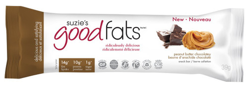 Suzie's Good Fats: Snack Bar - Peanut Butter Chocolatey (39g)