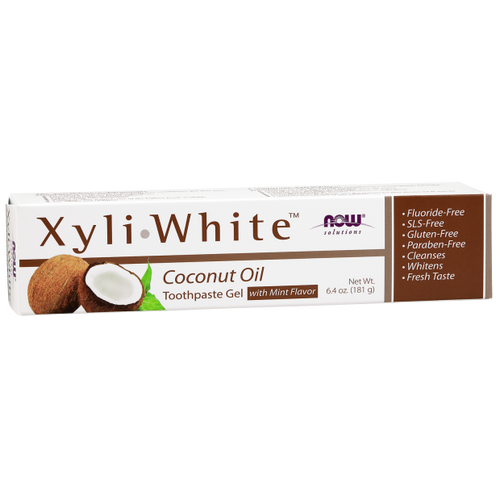 Now: XyliWhite Coconut Oil Toothpaste Gel with Mint Flavour (181g)