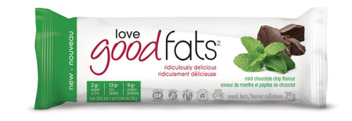 Love Good Fats: Snack Bar - Mint Chocolate Chip