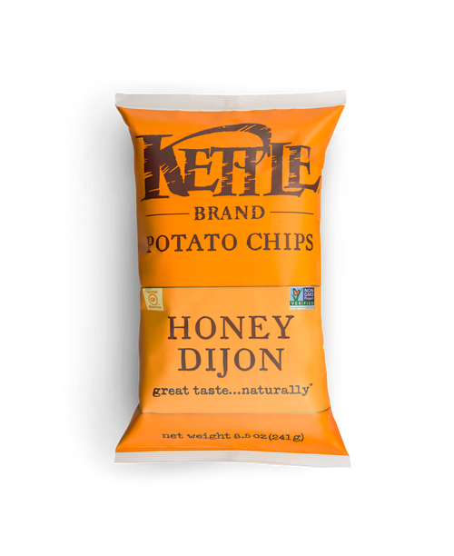 Kettle: Honey Dijon Potato Chips (220g)