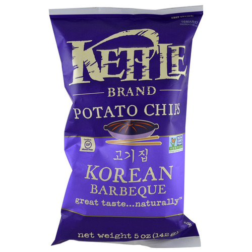 Kettle: Korean BBQ Potato Chips (220g)