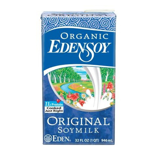 Eden: Organic Original Soy Beverage (946ml)