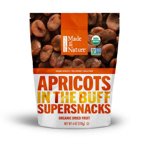 Made in Nature: Organic Dried Apricots - In the Buff (170g)
