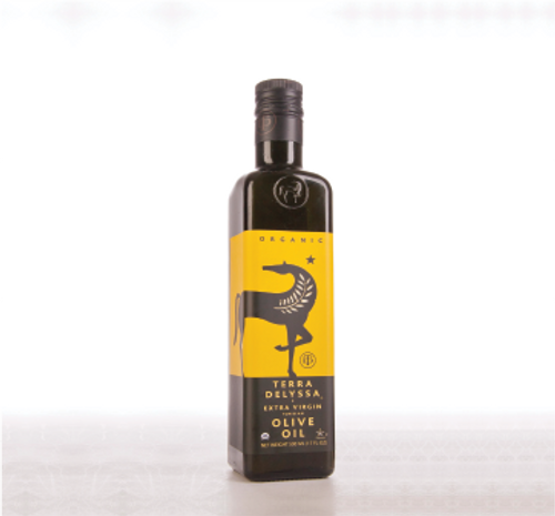 Terra Delyssa: Organic Extra Virgin Olive Oil (750ml)
