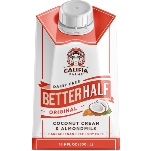 Califia Farms: Better Half Coffee Creamer - Original (500ml)