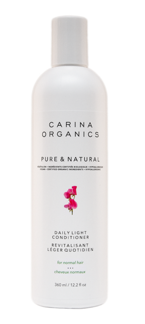 Carina Organics: Pure & Natural Daily Light Conditioner (360ml)