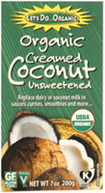 Let's Do Organic: Creamed Coconut (200g)
