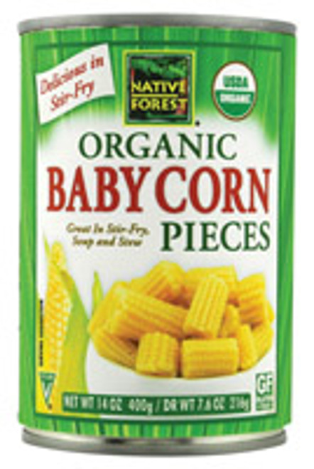 Native Forest: Organic Baby Corn Pieces (400g)