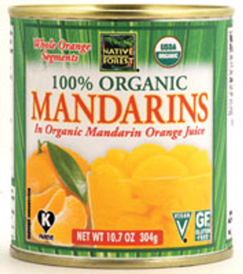 Native Forest: Organic Mandarins In Juice (284ml)