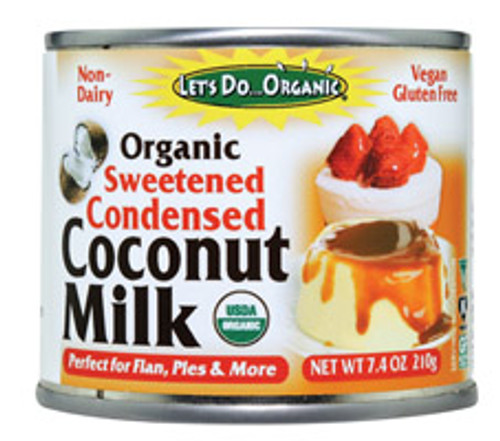 Let's Do Organic: Organic Sweetened Condensed Coconut Milk (195ml)