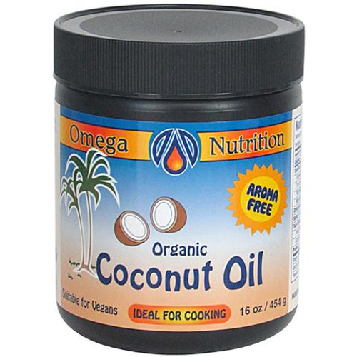 Omega Nutrition: Certified Organic Coconut Oil (454g)