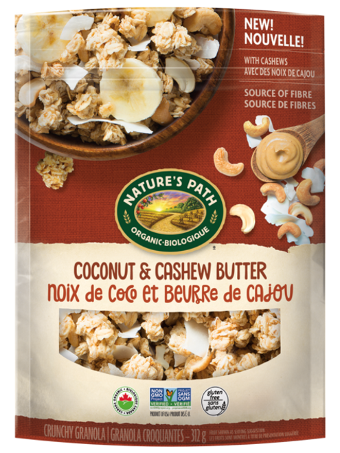 Nature's Path: Coconut & Cashew Butter Granola (312g)