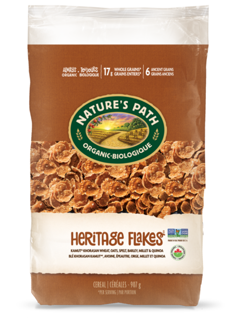 Nature's Path: Heritage Flakes Cereal (907g)