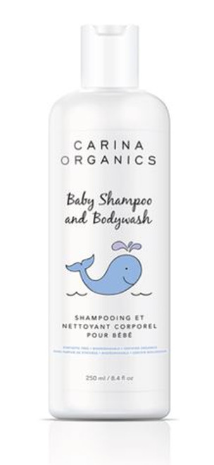 Carina Organics: Baby Shampoo and Bodywash (250ml)