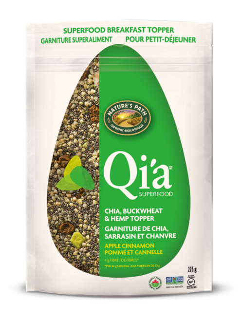 Nature's Path: Qi'a Breakfast Cereal - Apple Cinnamon (225g)